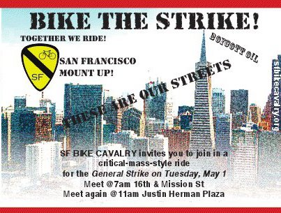 Critical Mass Ride for M1GS