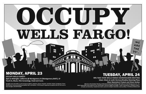 Occupy Wells Fargo Apr 23-24